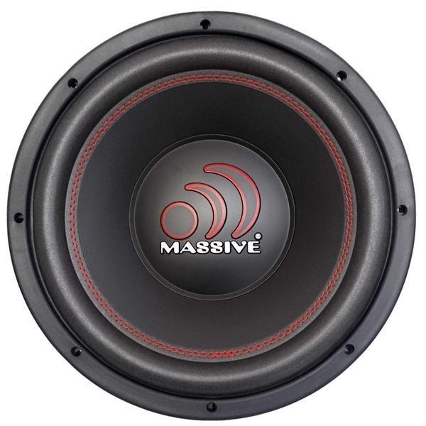 "Massive Audio MMA104 MMA Series 1000 Watts 10/"" Dual 4 Ohm Car Audio Subwoofer"